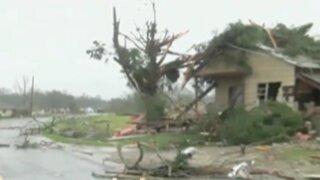 EEUU: al menos tres muertos por tormentas en el sur del país
