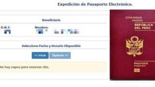 Se agotan rápidamente citas para obtener pasaporte biométrico