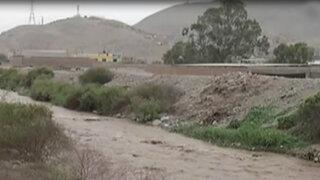 Vecinos de San Diego preocupados por incremento de caudal del río Chillón