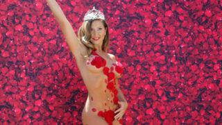 Chile: así fue el piscinazo de la reina de Viña del Mar, 'Luli' Moreno