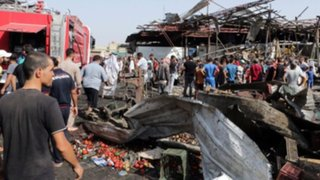 Atentados del Estado Islámico dejan al menos 70 muertos en Bagdad