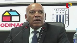 Alianza Lima: ¿Qué dijo Mosquera tras derrota ante Cristal?