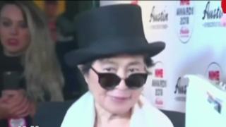 EEUU: Yoko Ono regresa a casa tras hospitalización