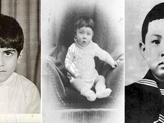 FOTOS: ¿Cómo se veían los mayores genocidas de la historia cuando eran niños?
