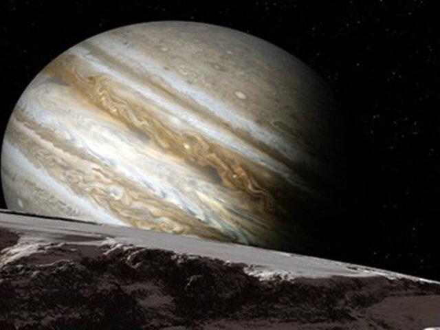 NASA: Júpiter no gira alrededor del sol como el resto de planetas