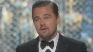 USA: Leonardo DiCaprio obtuvo su primer Oscar