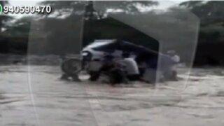 WhatsApp: registran desborde de río en Piura