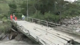 Cusco: puente que conecta a Machu Picchu fue destruido por caudal de río