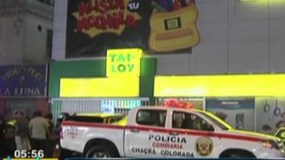 Delincuentes vestidos de 'serenos' asaltaron tienda de útiles escolares