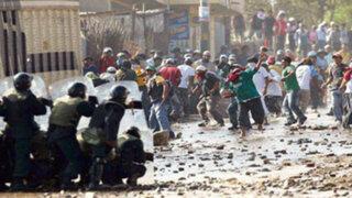 Conflictos sociales: ¿Qué proponen los candidatos para evitar la violencia y ejecutar proyectos?