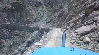 Nepal: impactantes imágenes de uno de los caminos más peligrosos del mundo