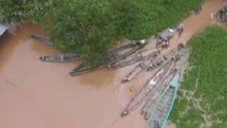 Madre de Dios: desborde de río afecta campos y viviendas