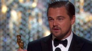Espectáculo internacional: Leonardo DiCaprio olvidó su Oscar en un restaurante