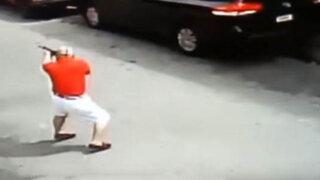 VIDEO: detienen a exmilitar que mató a delincuente que lo asaltó