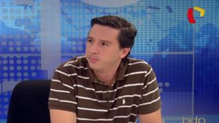 """Garrido Lecca: """"Anel Townsend ya asumió los pasivos del error"""""""