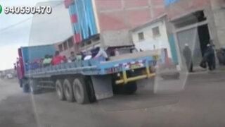 """Integrantes de una banda musical """"juegan con la muerte"""" en Puno"""
