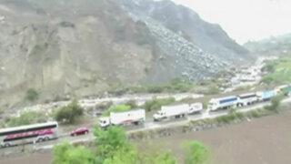 Vraem: vías permanecen bloqueadas por caída de huaicos