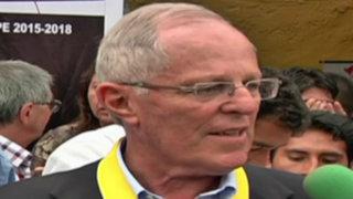 PPK opina por declaraciones de Julio Guzmán sobre proyectos mineros