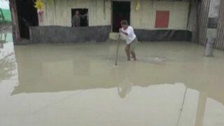 Tumbes: viviendas afectadas por lluvia de nueve horas