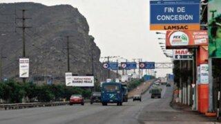 Iniciarán ampliación de autopista Ramiro Prialé