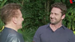 """Actor Gerard Butler """"golpea"""" a periodista durante entrevista"""