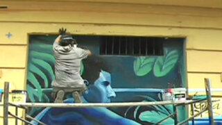 Callao: peligroso barrio de Castilla cambia de rostro gracias al arte