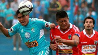 Sporting Cristal venció 2-1 a Unión Comercio en el Alberto Gallardo
