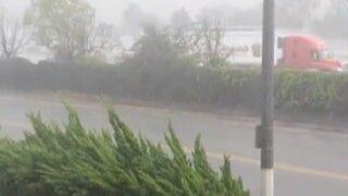 EEUU: California es afectada por las lluvias y causa inundaciones