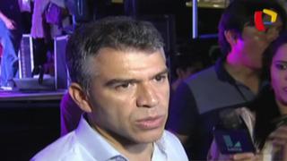 Julio Guzmán encabeza concentración y anuncia lucha por candidatura