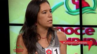 Marisa Glave en desacuerdo con candidatura de Villarán por el Nacionalismo