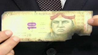 BCR brinda recomendaciones para canjear billetes rotos o quemados