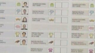Voto Batería: ONPE asegura tener cédulas preparadas para las elecciones