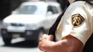 Seguridad ciudadana: proponen impulsar la formalización de 'guachimanes'