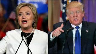 Primarias en EEUU: Hillary Clinton y Donald Trump logran nuevos triunfos