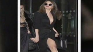 Selena Gómez tuvo pequeño incidente con su vestido