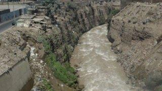 Pobladores alarmados por aumento del caudal del río Rímac