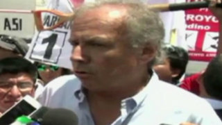 Arequipa: Barnechea reitera que no cree en resultados de encuestas