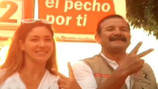 Tilsa Lozano acompañó a su suegro en un recorrido por Cañete