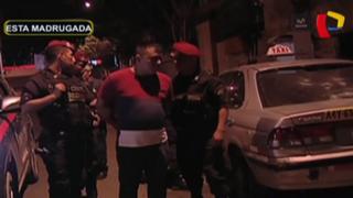 SMP: jóvenes se enfrentan a falso taxista y cómplice