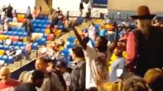 EEUU: joven afroamericano fue golpeado en mitin de Donald Trump