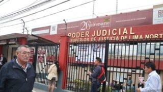 Corte Superior de Lima cuestiona retiro de seguridad policial en sus locales