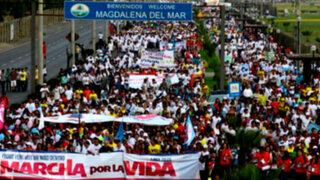 'Marcha por la Vida' se realizará este sábado en Lima
