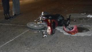 Chancay: ciudadano colombiano fallece tras despistar moto en Panamericana Norte