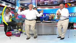 Kuczynski se animó a participar en divertido baile junto a su 'doble' en 'Paren esta Vaina'