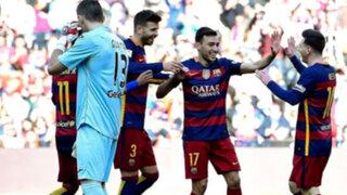 Barcelona arrolló 6-0 al Getafe y es más líder que nunca en la Liga BBVA