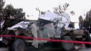 Cajamarca: choque entre bus y camión deja cinco muertos