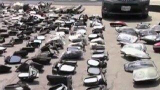 El Agustino: intervienen mercado clandestino de autopartes