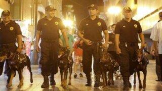 Brigada canina acompañará en patrullaje a serenos de Lima