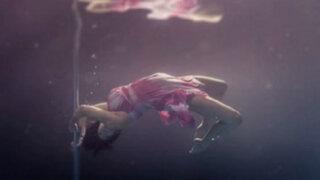 Nueva Zelanda: bailarinas realizan 'pole dance' bajo el agua
