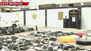 Policía recupera gran cantidad de autopartes robadas